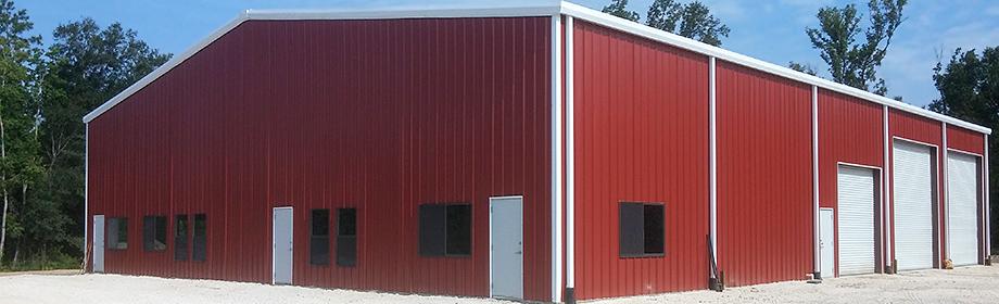 Metal Buildings in Livingston Texas - TDH Builders